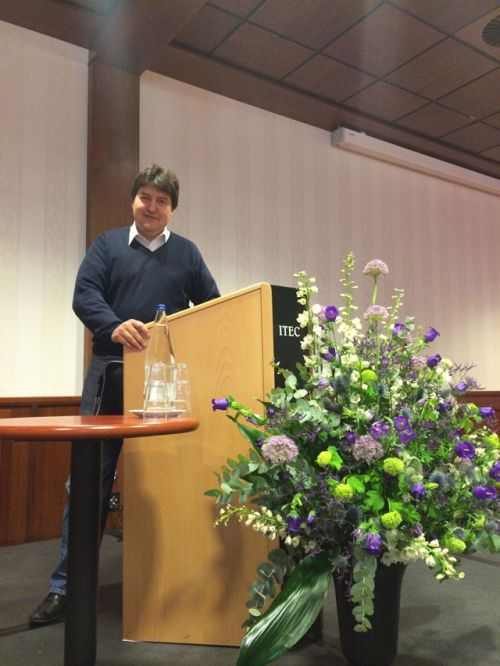 Prof. Boccaccini in Holland