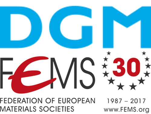Logos of DGM and FEMS.